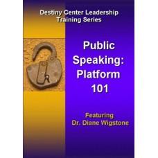 Public Speaking: Platform 101 DVD