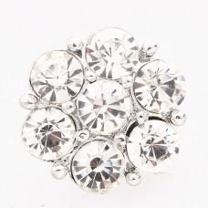 HappySnaps Jewel - 7 Crystal Flower - White