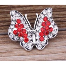 HappySnaps Jewel - Butterfly - Red and White