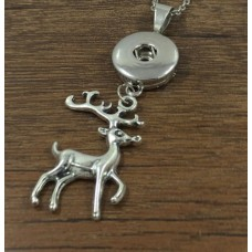HappySnaps Pendant Snap - Christmas Reindeer