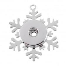 HappySnaps Pendant Snap - Christmas Snowflake