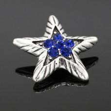 HappySnaps Jewel - Star - Blue Crystals
