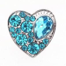 HappySnaps Jewel - Heart - Teal
