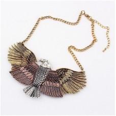 Eagle Choker Necklace  - Tri-Colored
