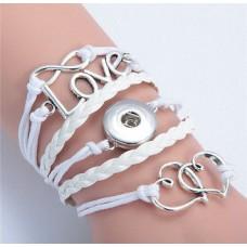 LifeStory HappySnaps Handmade Multi-strand Bracelet - Forever Love is in Our Hearts
