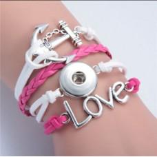 LifeStory HappySnaps Handmade Multi-strand Bracelet - Love is My Anchor