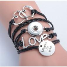 LifeStory HappySnaps Handmade Multi-strand Bracelet - Believe In Love