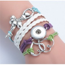LifeStory HappySnaps Handmade Multi-strand Bracelet - Happy Hearts Dance!
