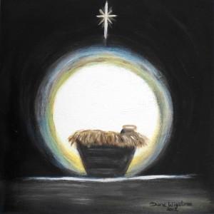 Christmas Nativity by Diane Wigstone