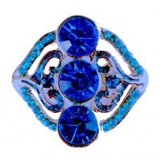 HappySnaps Jewel - 3 Crystals & Rhinestones - Royal Blue