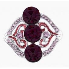 HappySnaps Jewel - 3 Crystals & Rhinestones - Wine