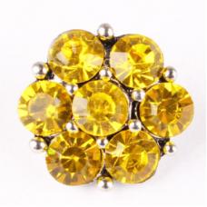 HappySnaps Jewel - 7 Crystal Flower - Golden