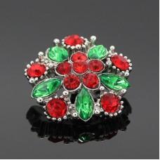 HappySnaps Jewel - Christmas Flower Snap