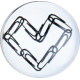 HappySnaps Jewel - Justice Gems Paperclip Heart Jewel Snap