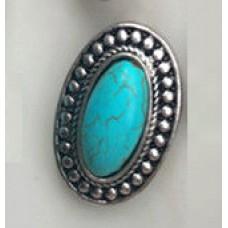 HappySnaps Jewel - Turquoise - Oval - Southwest Design
