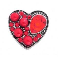 HappySnaps Jewel - Heart - Red