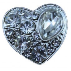 HappySnaps Jewel - Heart - White