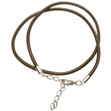 Necklace - Leather Necklace Cord Choker